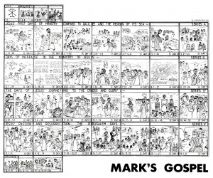 An Image of the Gospel of Mark from www.davidgpalmer.co.uk